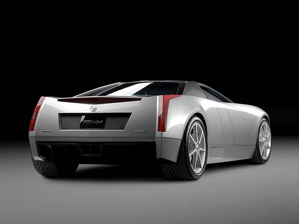 Sports Muscle Cars Cadillac Xlr 2003 Concept